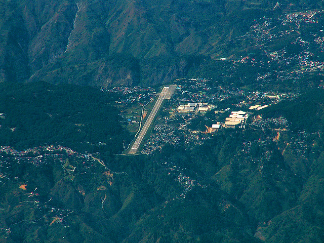 Baguio Airport viewed from the NorthEast