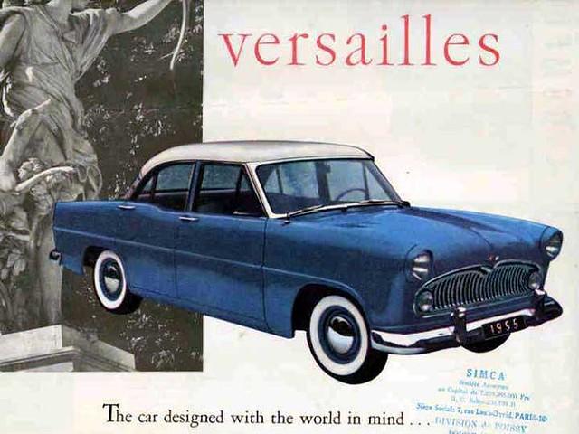 Simca Vedette Versailles 1955