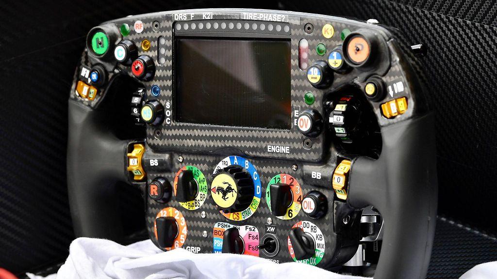 Vettelin Ferrari-auton ratti. Copyright: imago/Eibner/ All Over Press. Kuva: imago sport.
