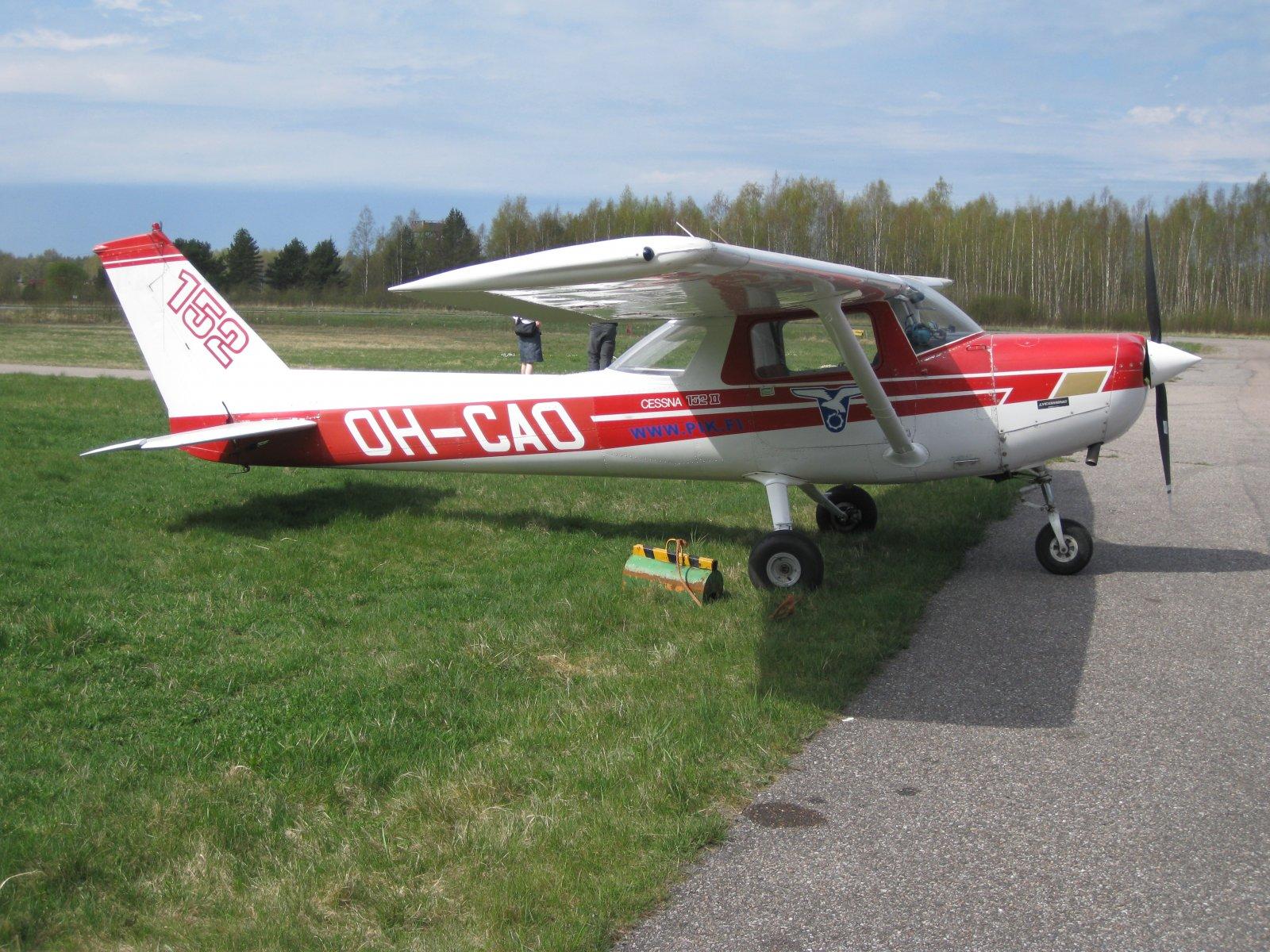 Cessna C152 OH-CAO EFHN 2008-05-04