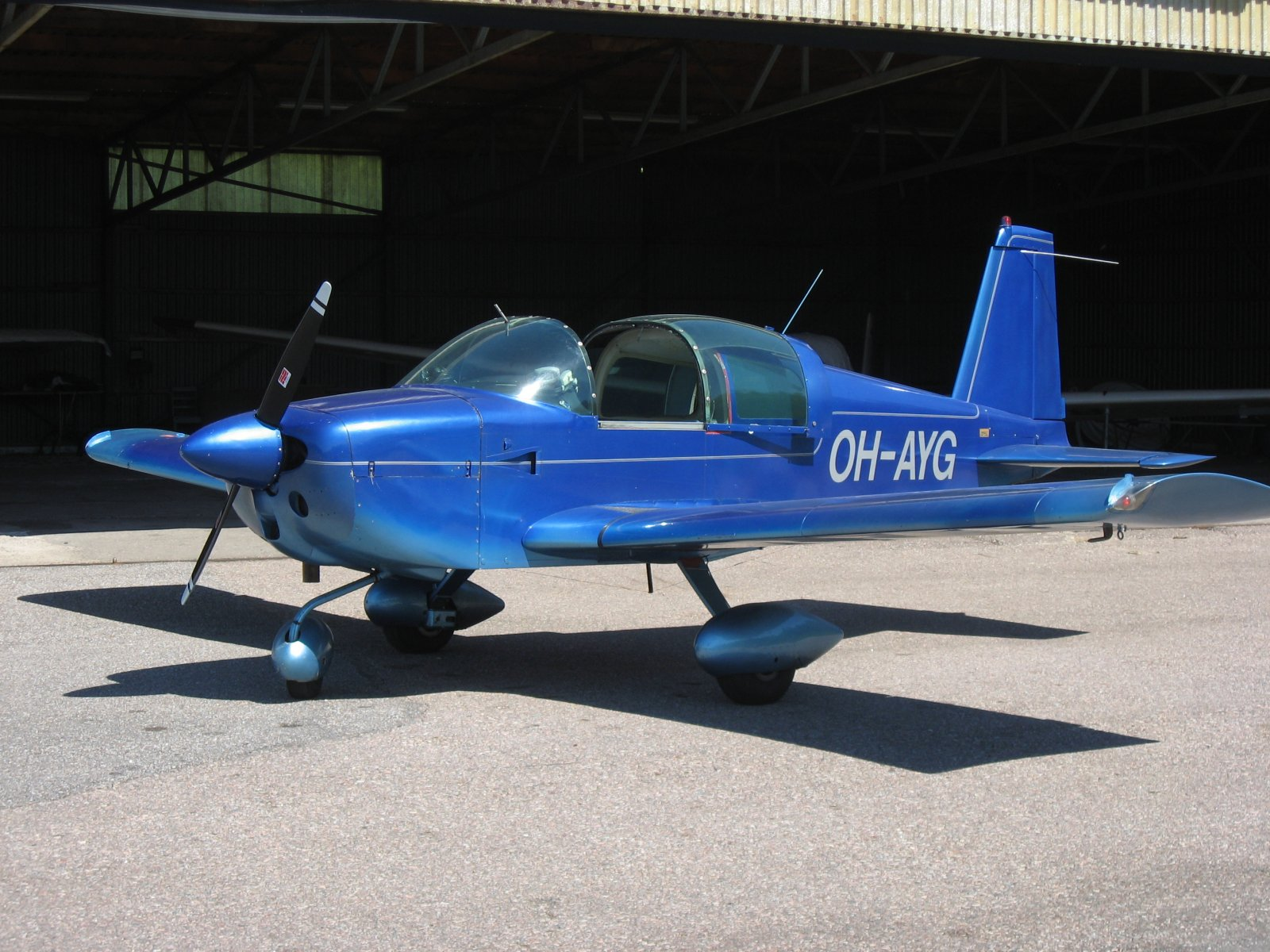 Grumman American AA-1B Trainer OH-AYG EFHN 2007-06-09