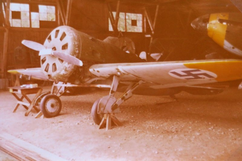 Polikarpov I-16 (UTI-4) Vesivehmaalla 4.4.1973