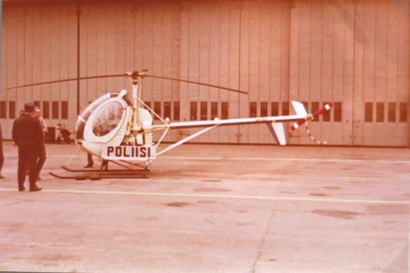 Hughes 269C (OH-HII) Malmilla 14.5.1972. Heko putosi Vuokseen Imatralla  29.7.72. Poistettiin rekisteristä 15.8.72