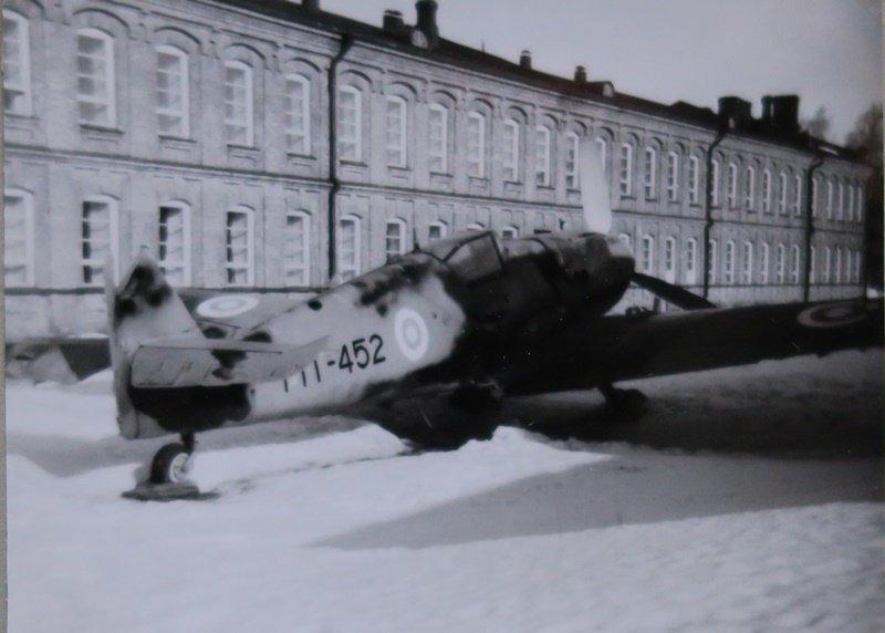 Bf 109 G-6, MT-452, Santahaminassa kevättalvella 1967