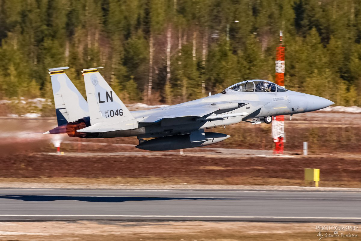 84-0046 USAF F-15D Eagle