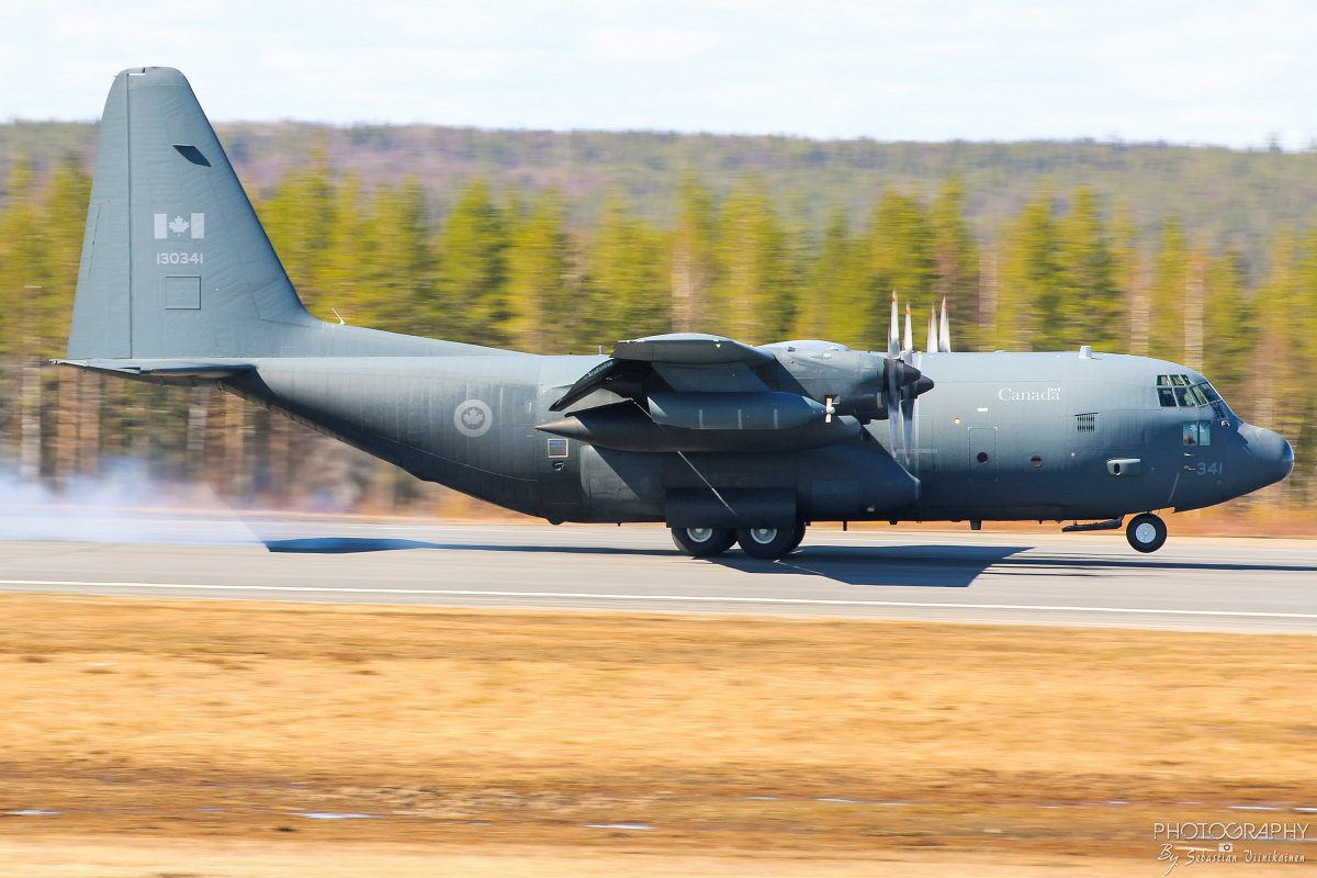 130341 Canada Air Force Lockheed CC-130H Hercules