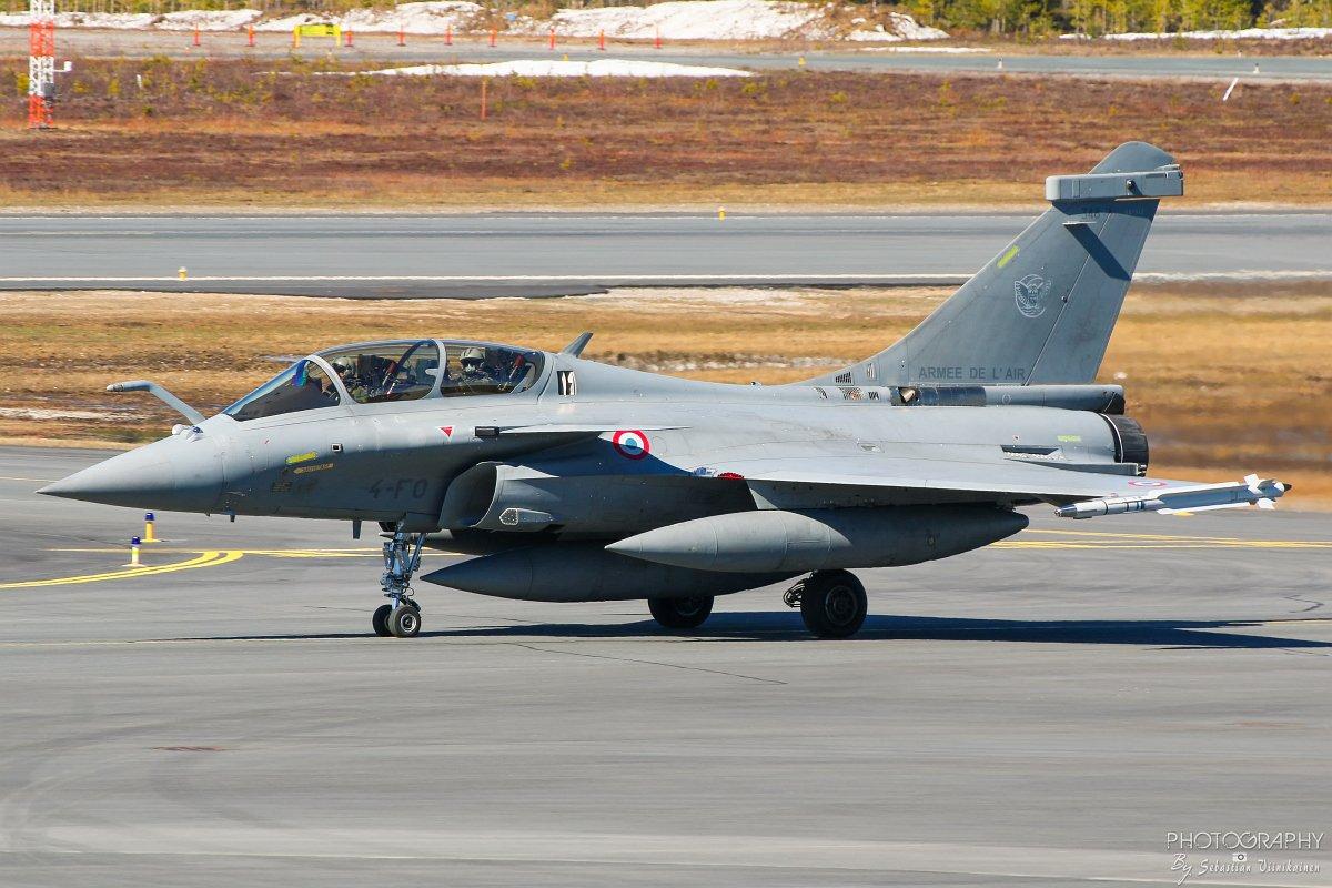 348 / 4-F0 France Air Force Dassault Rafale B