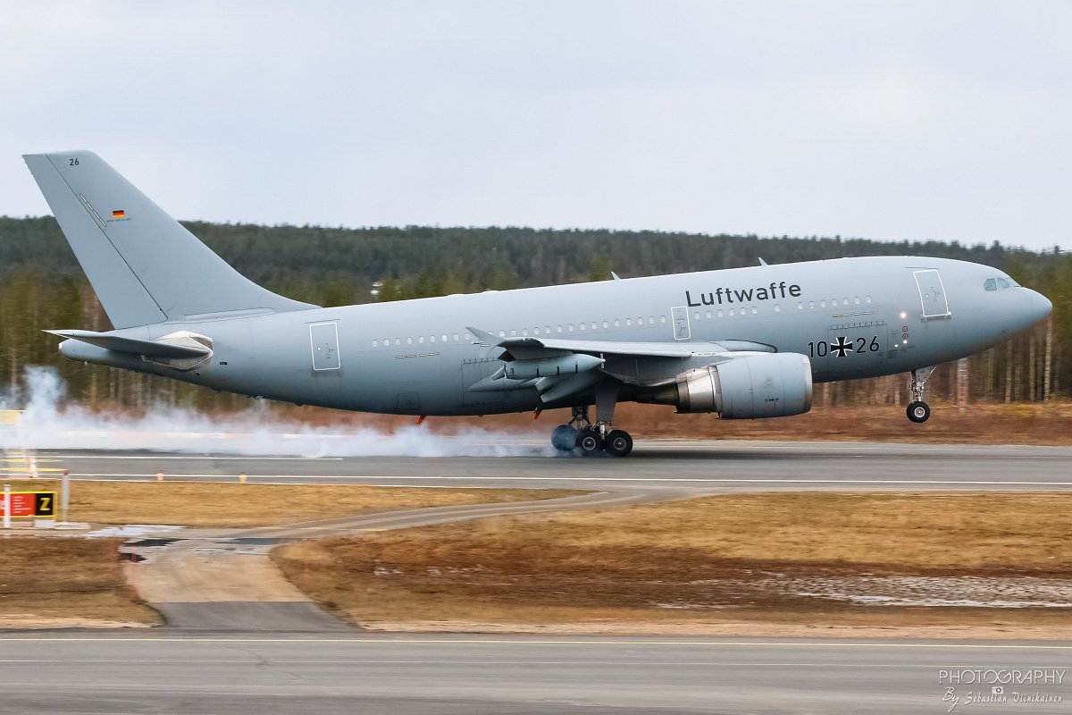 10+26 Germany Air Force A310-300 MRTT