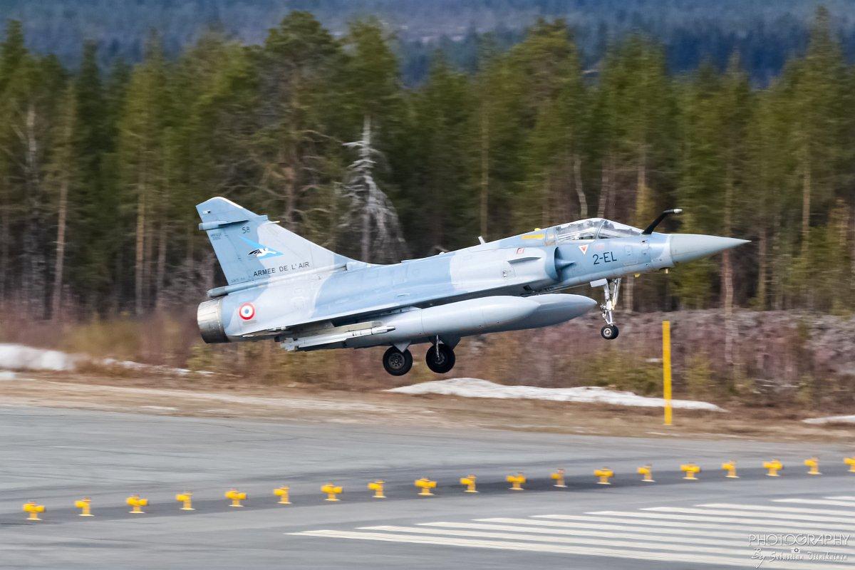 58 / 2-EL France Air Force Dassault Mirage 2000-5F