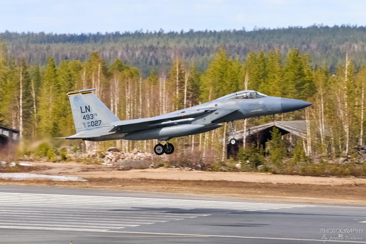 84-0027 USAF F-15C Eagle