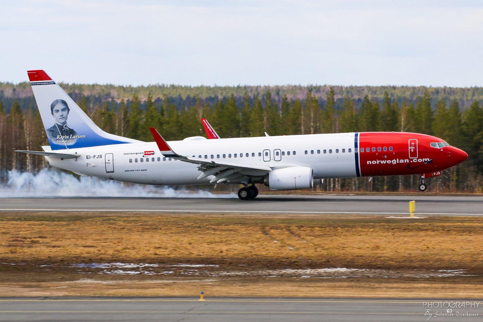 EI-FJS Norwegian B737-800 26.05.2017