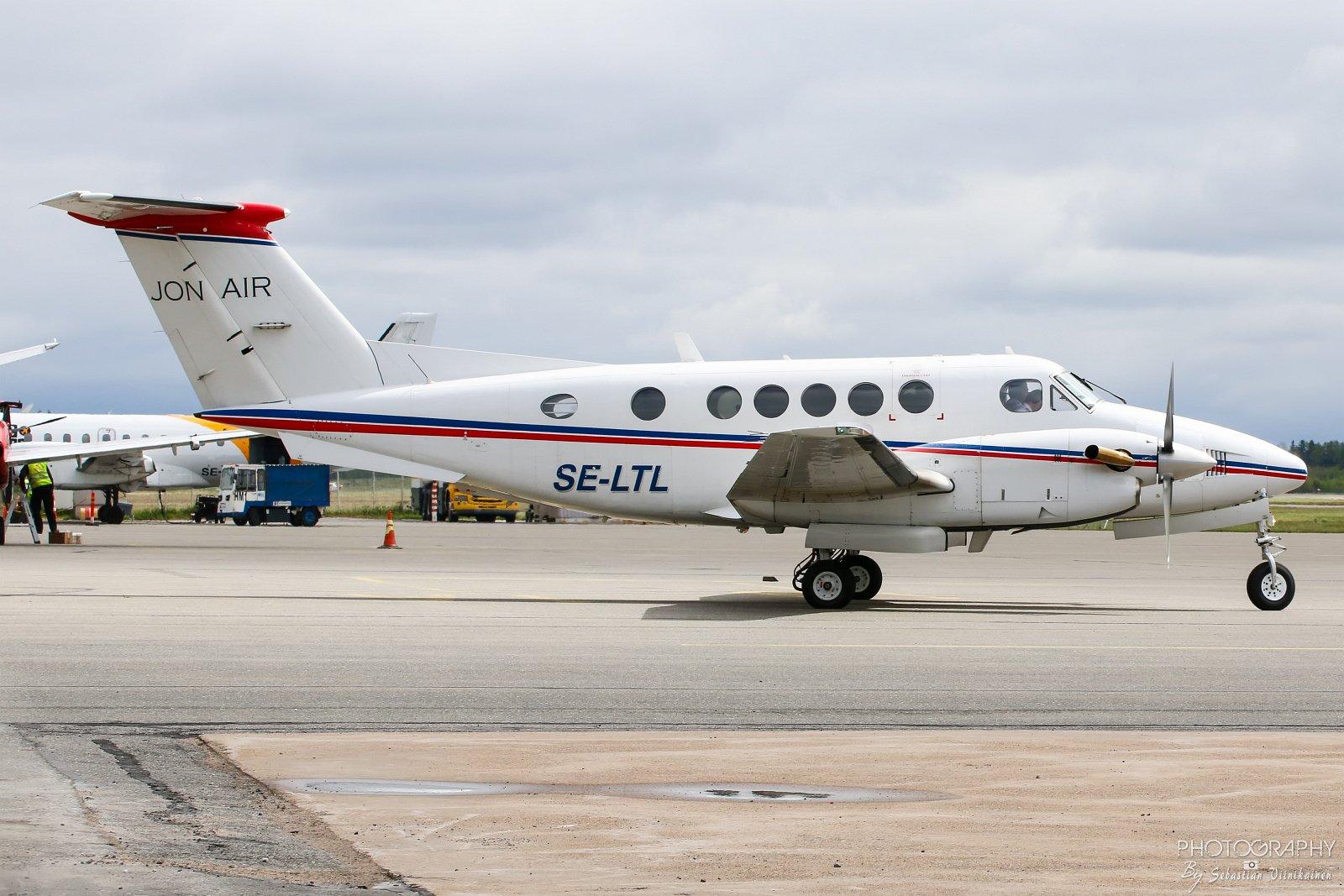 SE-LTL Jonair Beechcraft 200 Super King Air
