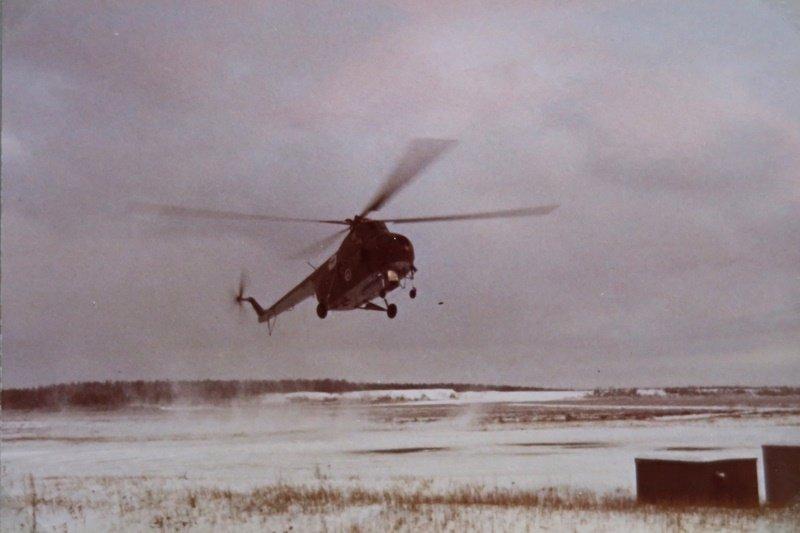 MiL Mi-4, HR-3, Utissa talvella 1970/71