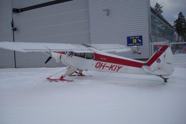 OH-KIY Rissalassa talvella 2008-2009