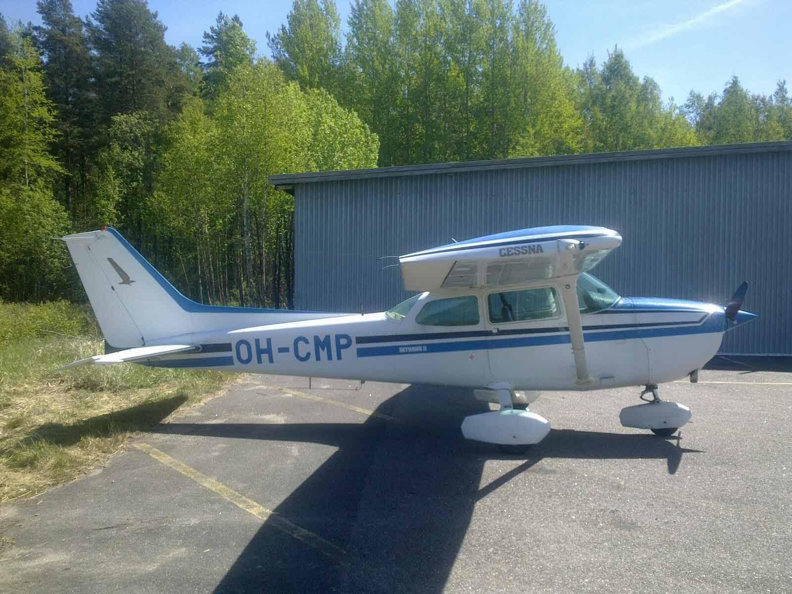 Cessna C172P OH-CMP EFHN 2017-06-06