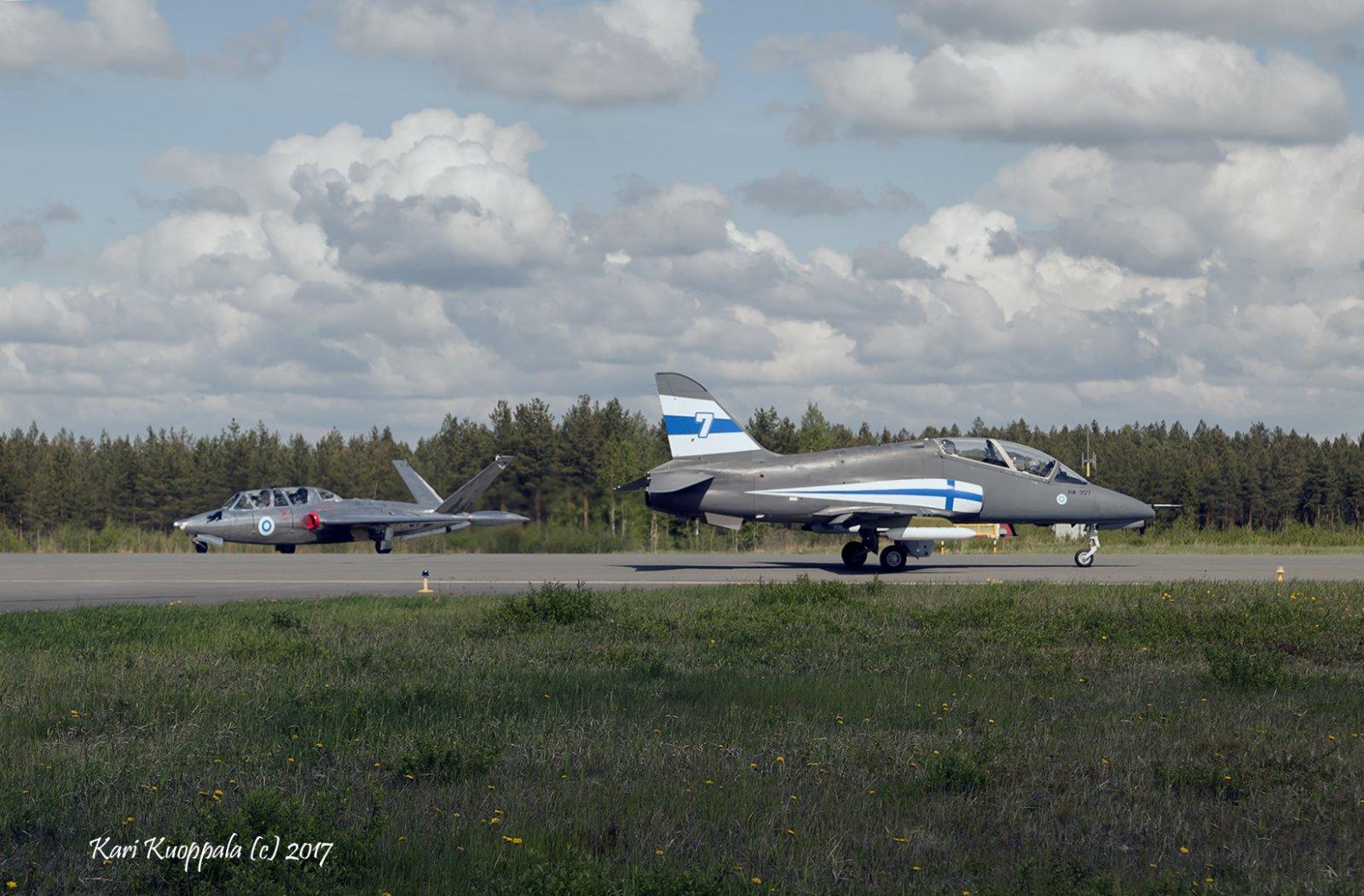Fouga Magister ja Hawk MK51