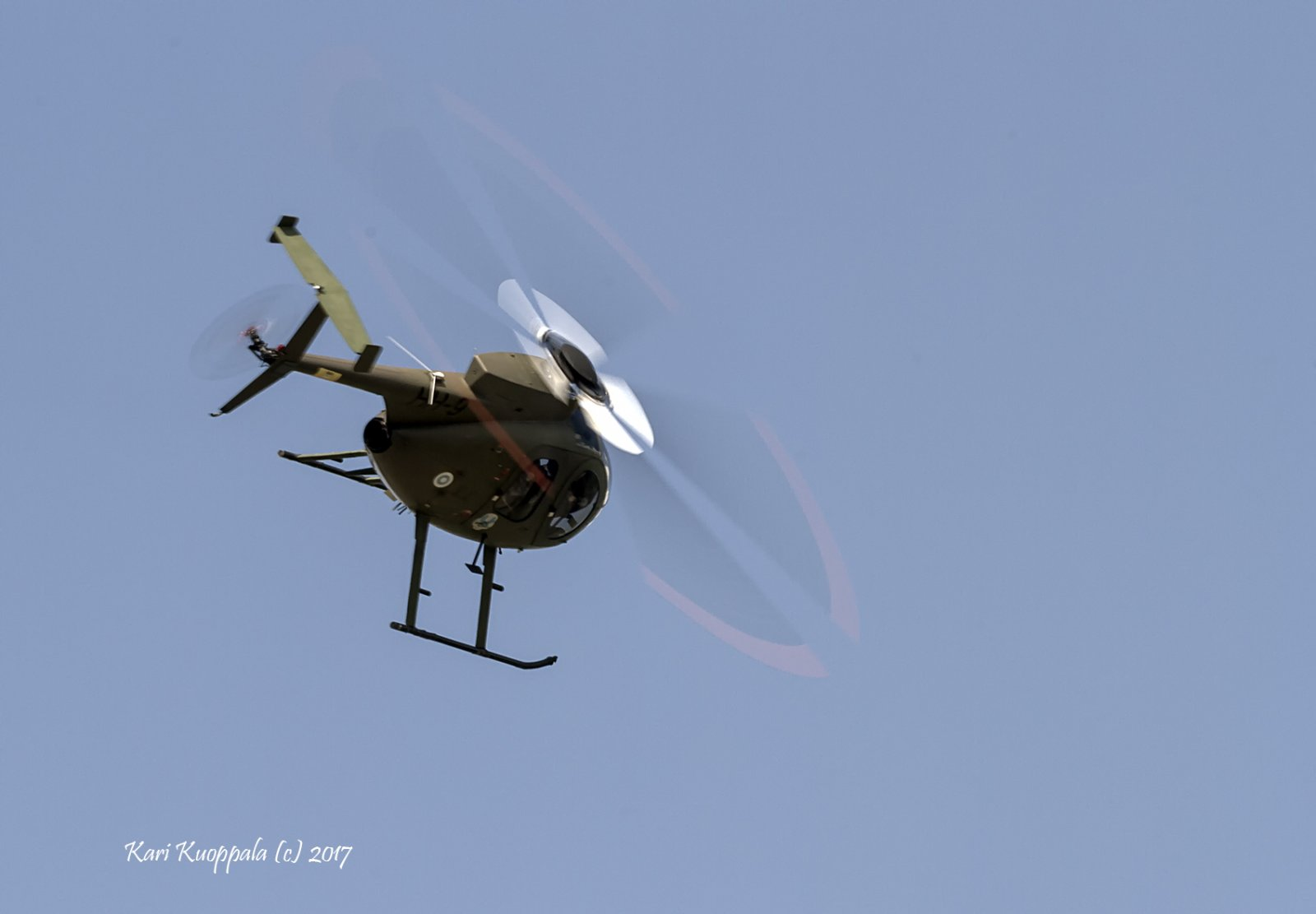 Hughes MD500-kevythelikopteri