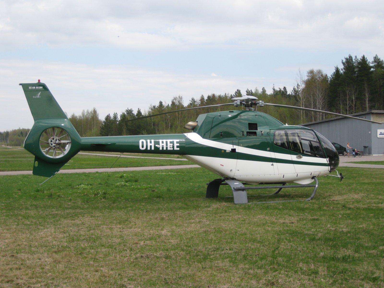 Eurocopter EC 120B Colibri OH-HEE EFHN 2010-05-16