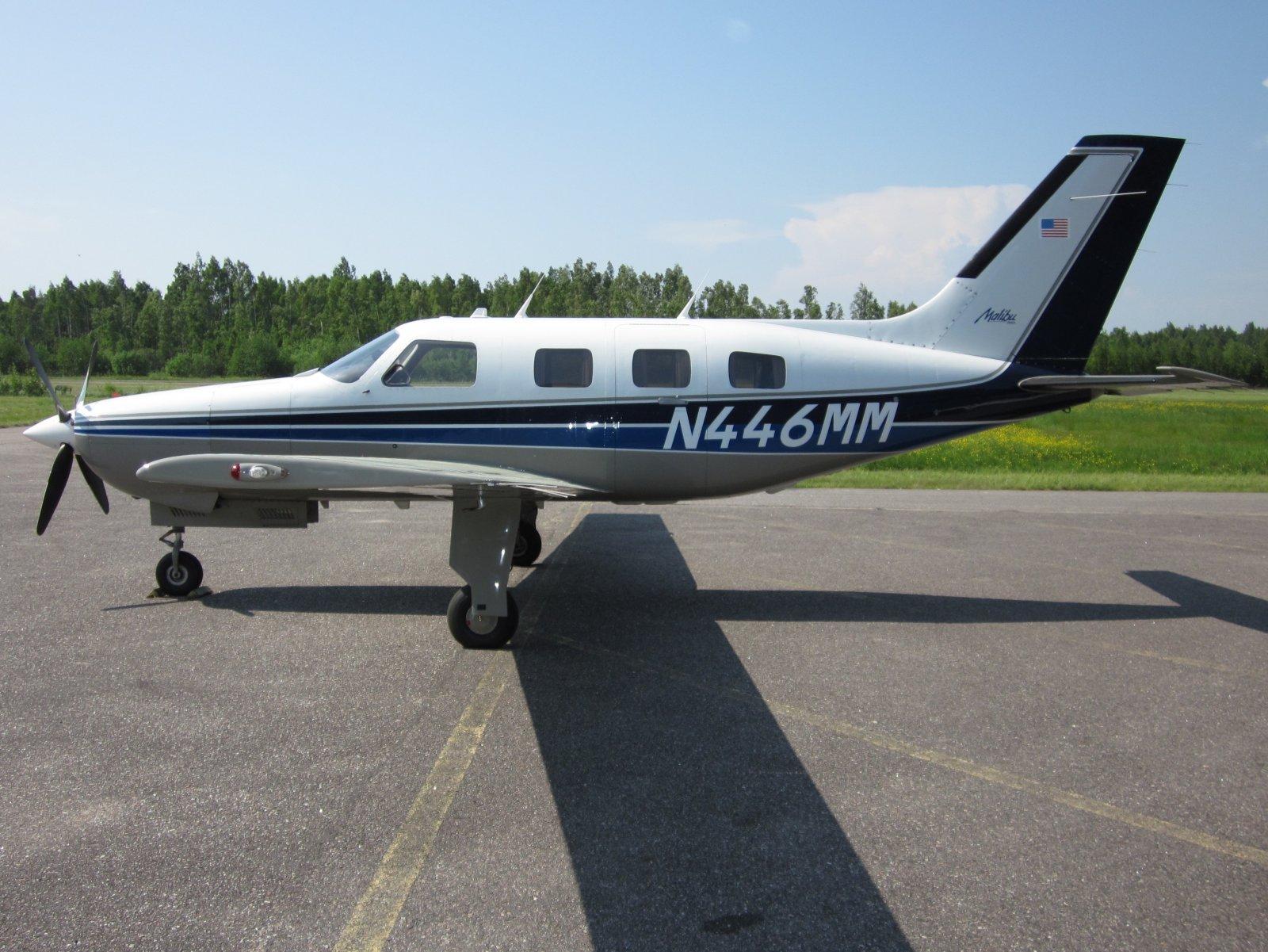 Piper PA-46-310P Malibu N446MM EFHN 2011-06-11