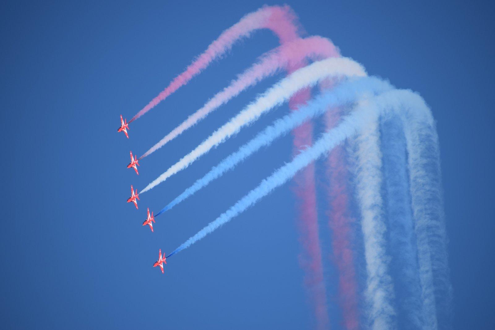 """RAF Red Arrows Enid & """"Python"""""""