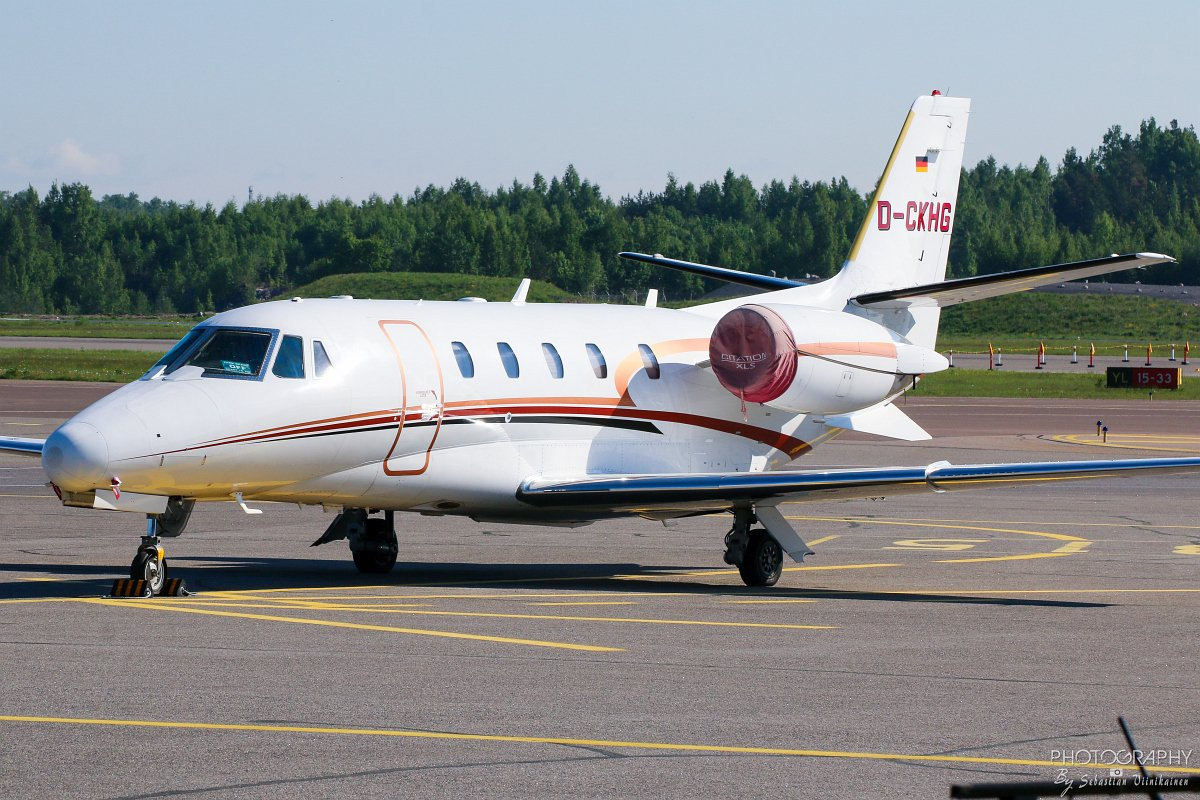 D-CKHG Cessna 560XL Citation XLS 10.06.2017