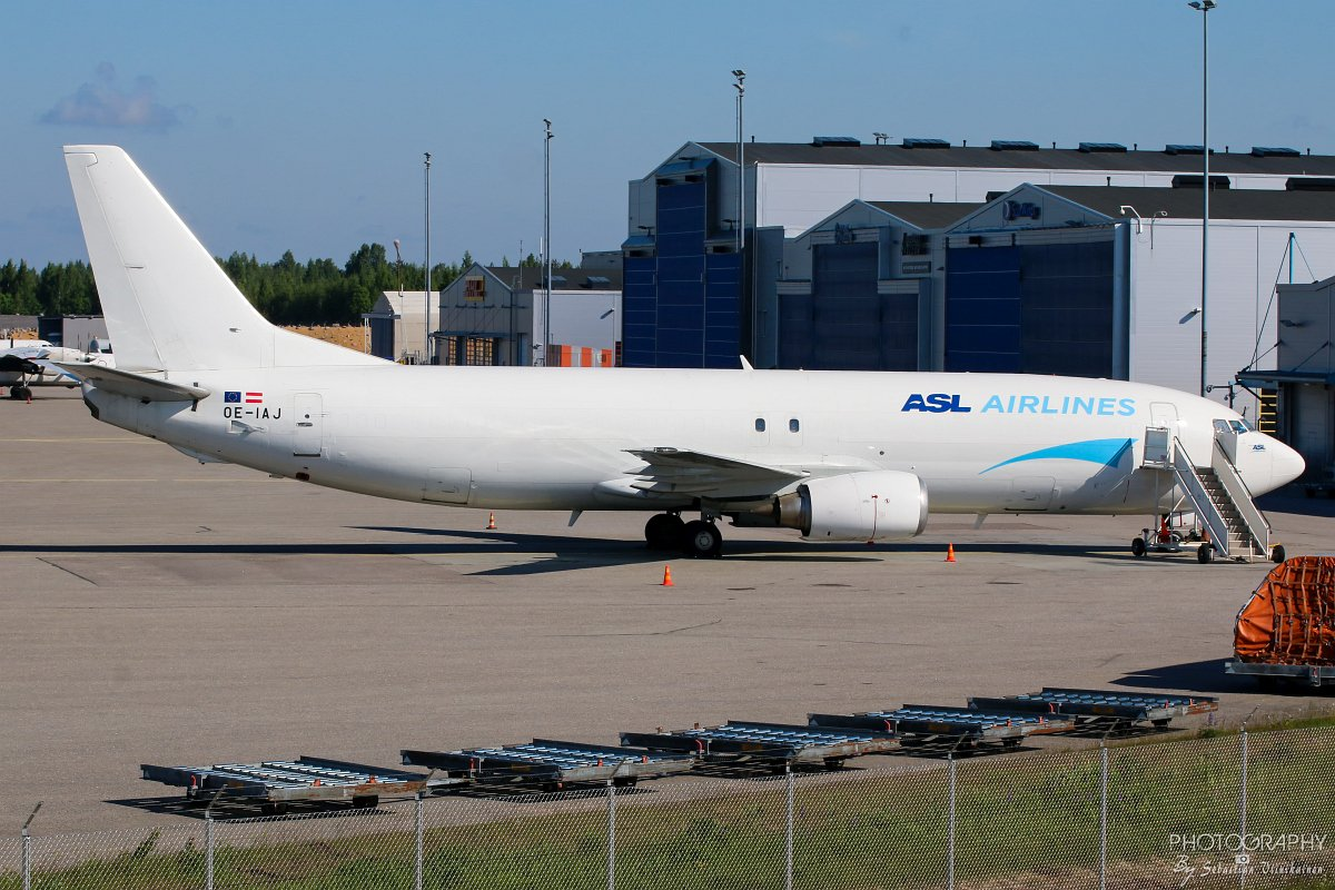 OE-IAJ ASL Airlines B737-400F 10.06.2017