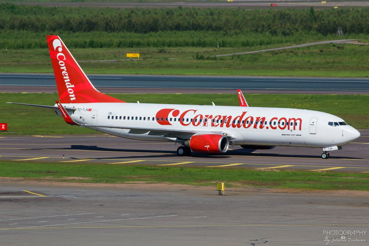TC-TJN Corendon Airlines B737-800 10.06.2017