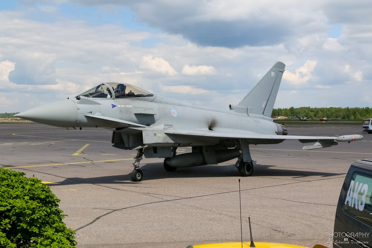 ZK354 / BY UK Air Force Eurofighter Typhoon FGR4, 10.06.2017