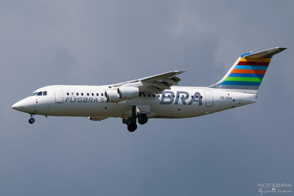 SE-DSV Braathens Regional Avro RJ100, 10.06.2017