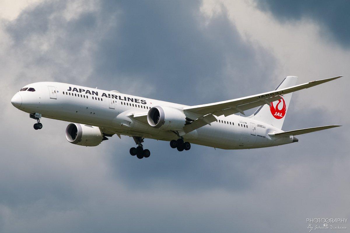 JA863J Japan Airlines B787-900, 10.06.2017