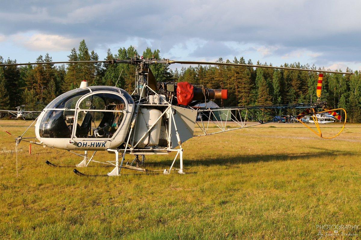 OH-HWK Aerospatiale SA315B Lama