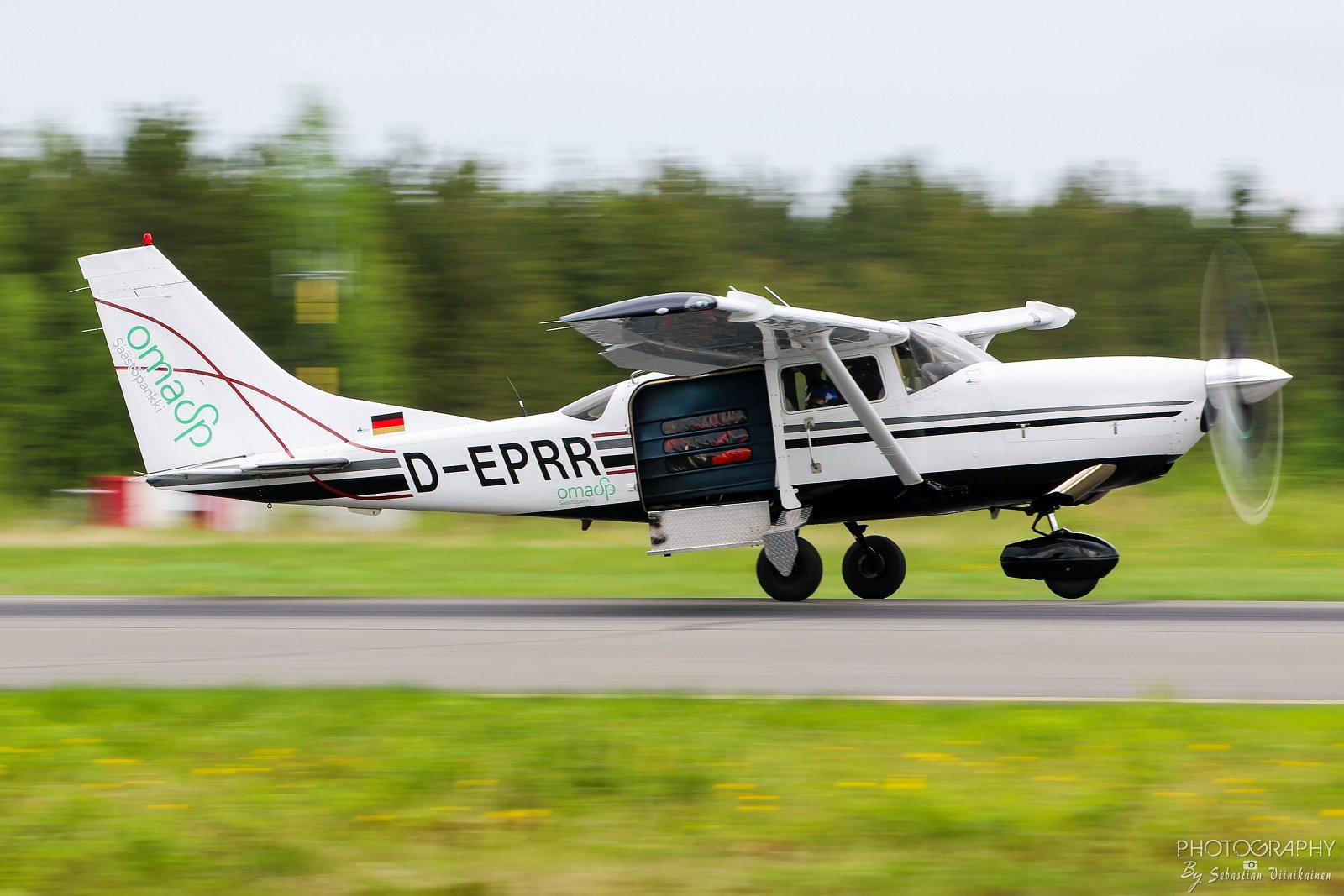 D-EPRR Alavuden Ilmailukerho Cessna T206H Turbine Powered Mark II Jump Master 11.6.