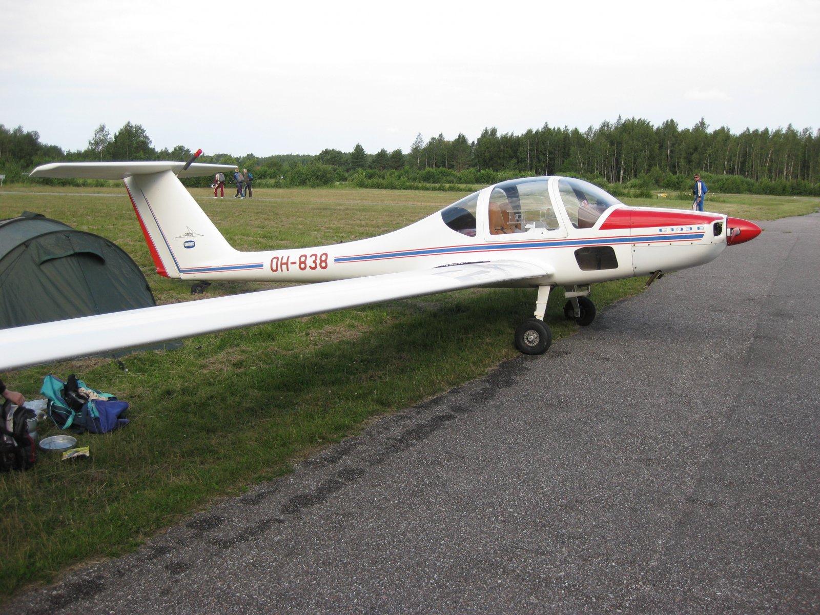 Grob 109B OH-838 EFHN 2008-07-19