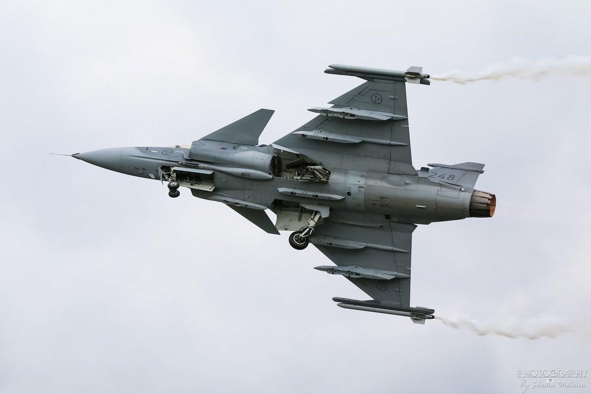 39248 Ruotsin Ilmavoimat Saab JAS 39C Gripen