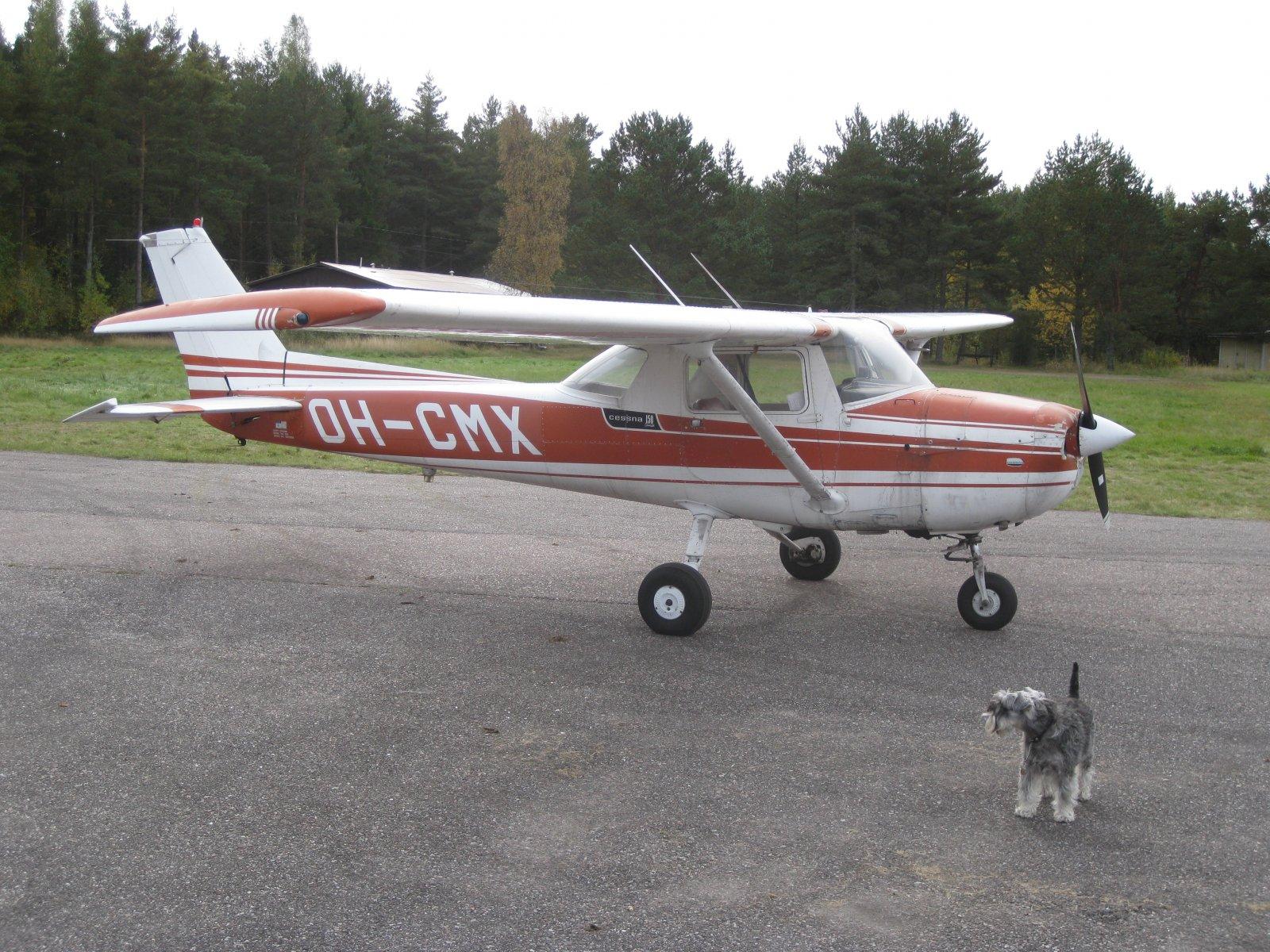 Cessna C150L OH-CMX EFHN 2008-09-27