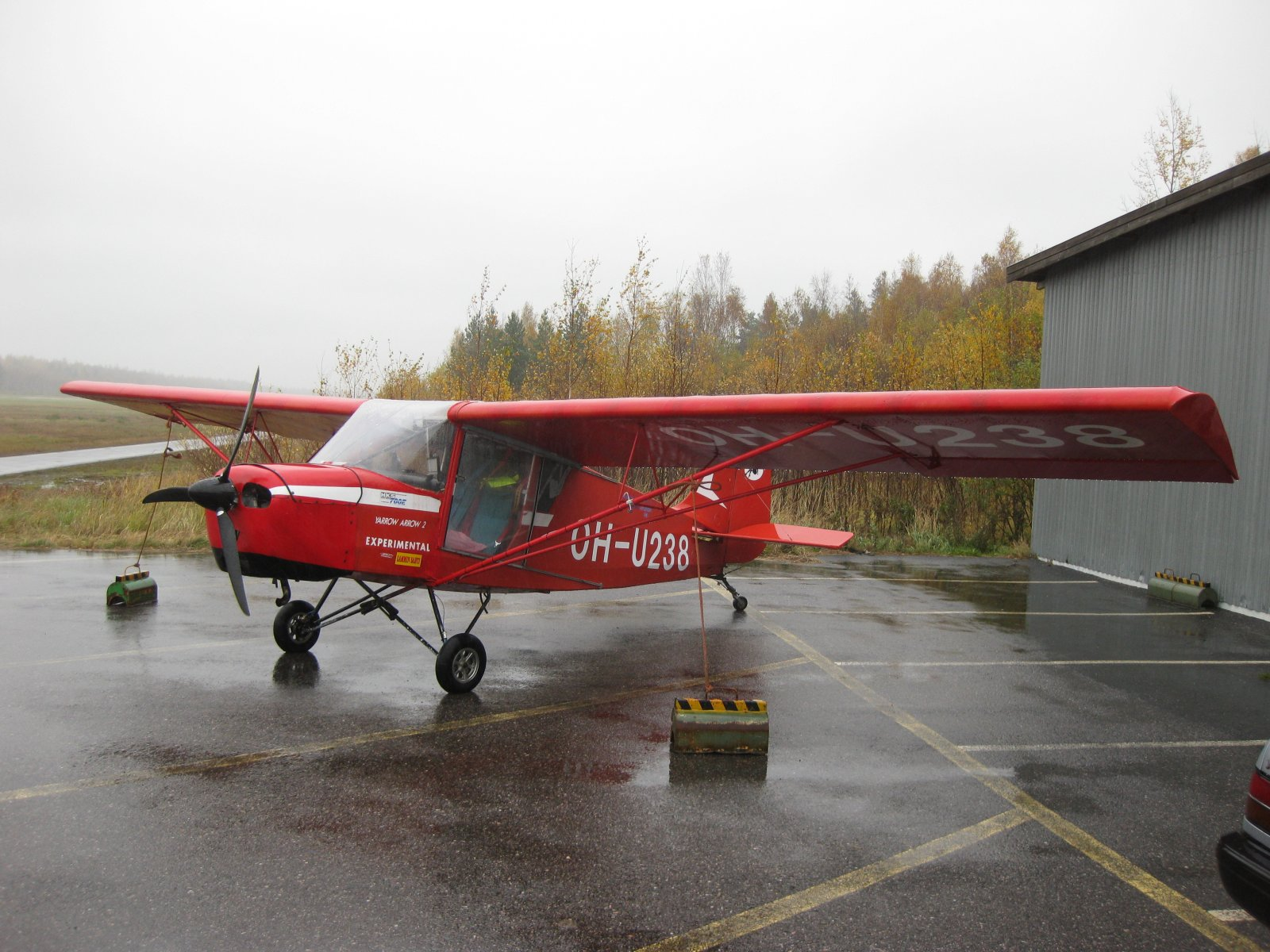 Yarrow Arrow 2 OH-U238 EFHN 2008-10-11