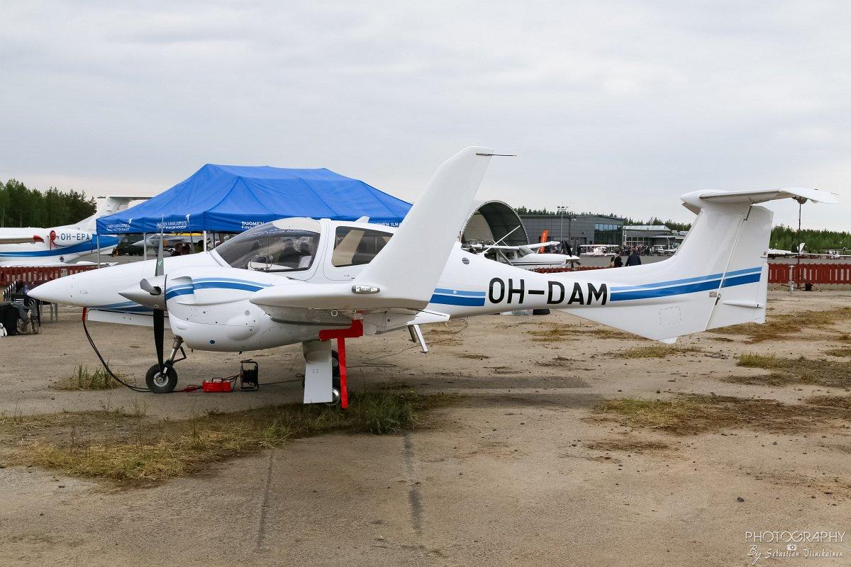 OH-DAM Suomen Ilmailuopisto DA42 11.6.