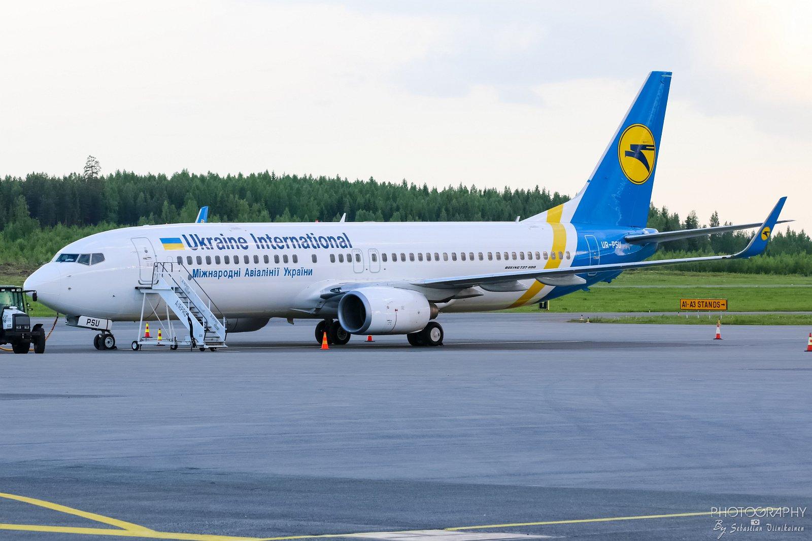 UR-PSU Ukraine International Airlines B737-800, 11.06.2017