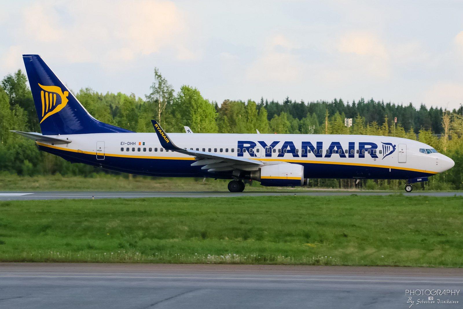 Ei-DHH Ryanair B737-800, 11.06.2017