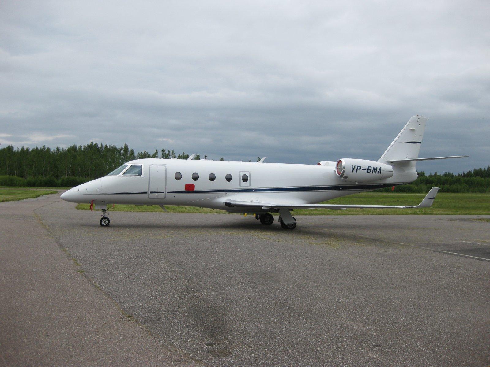 Gulfstream G150 VP-BMA EFHN 2009-06-13