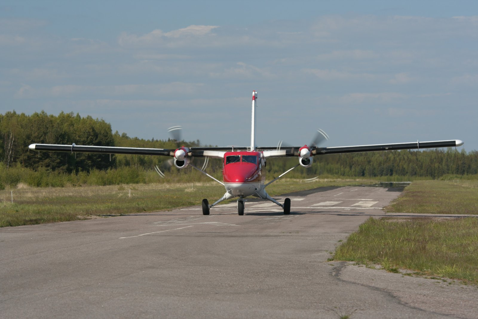 DHC-6-300 Twin Otter OH-SLK EFHN 2008-05-26
