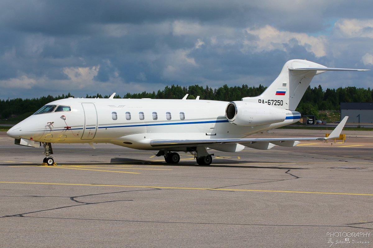 RA-67250 Aviatis BD-100-1A10 Challenger 300, 09.06.2017