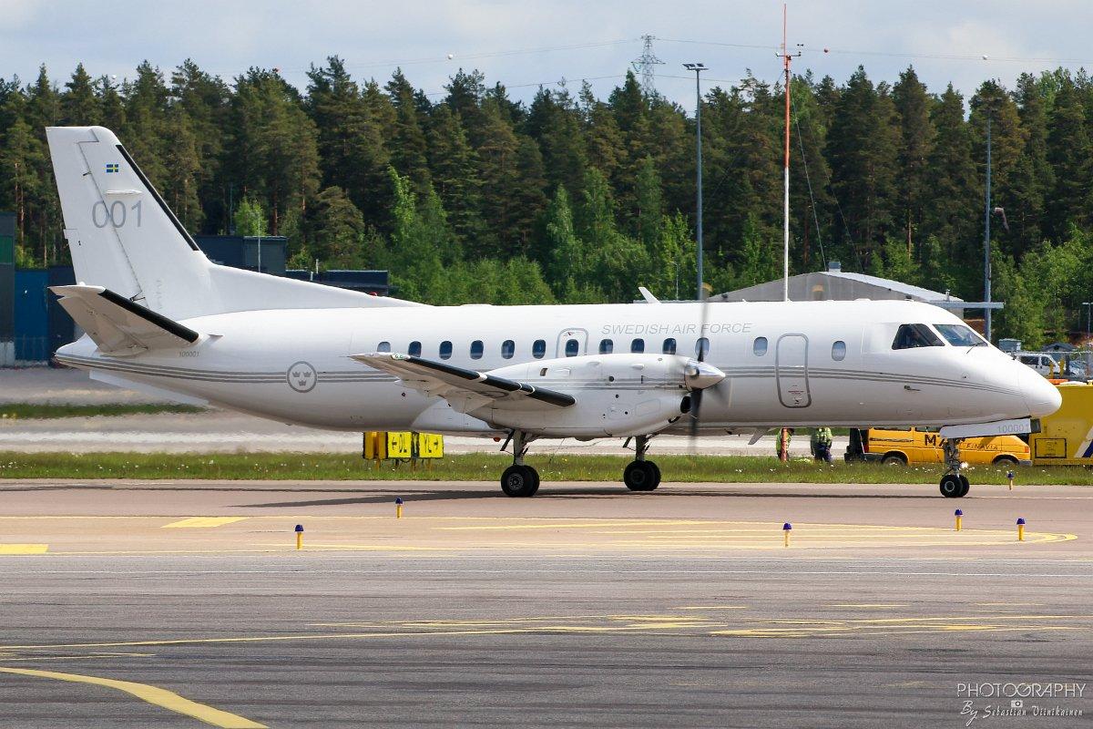 100001 Sweden Air Force Saab OS100, 09.06.2017