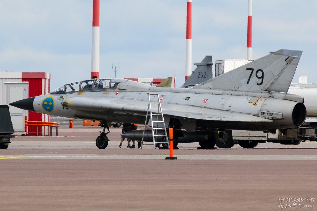 SE-DXP Saab Sk35C Draken, 09.06.2017