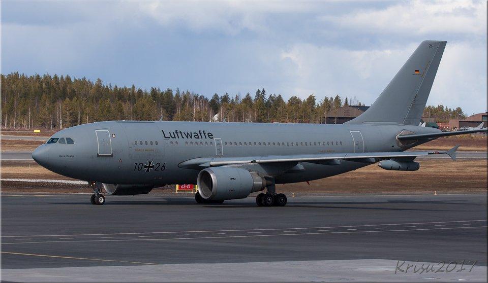 Luftwaffe mittautti sitten EFRO 03:sta niin pitkälle, ettei mitään mahdollisuutta saada kuvaan...