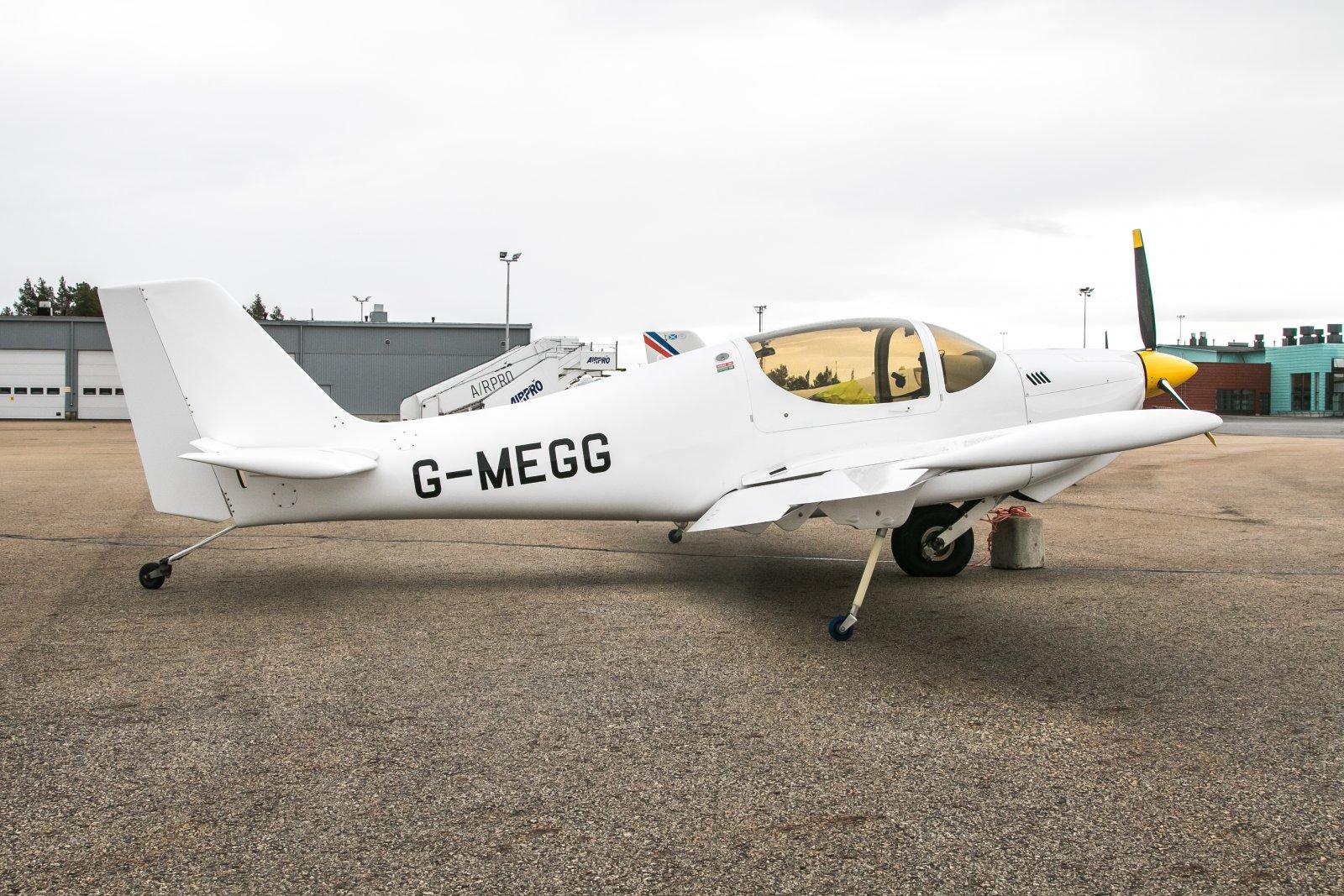 G-MEGG, Europa XS Monowheel.