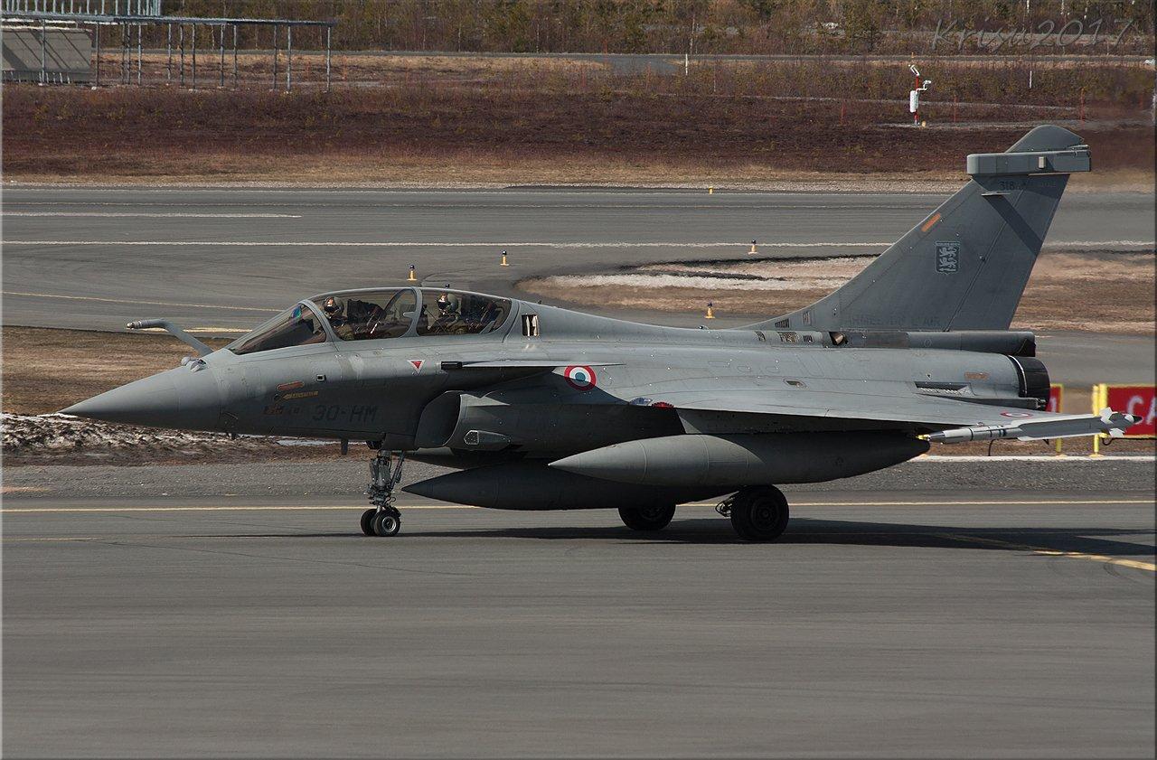 Dassault Rafale, edelleen.