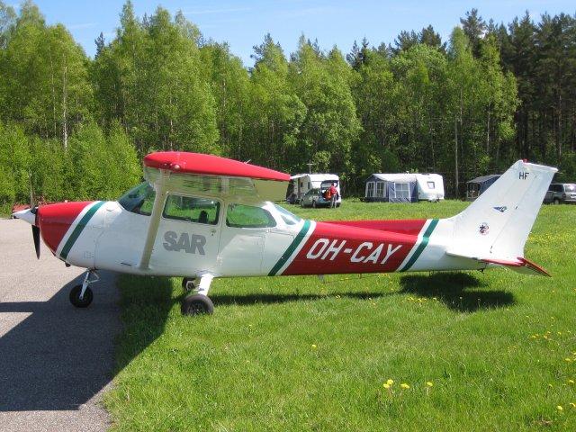 Cessna C172P II OH-CAY EFHN 2010-05-30