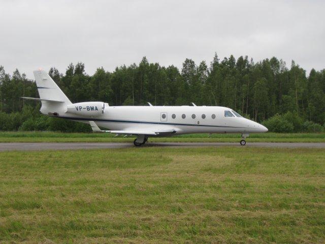 Gulfstream G150 VP-BMA EFHN 2009-06-14