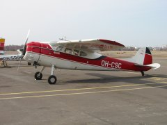 Cessna C195B Businessliner OH-CSC EFHF 2003-04-27